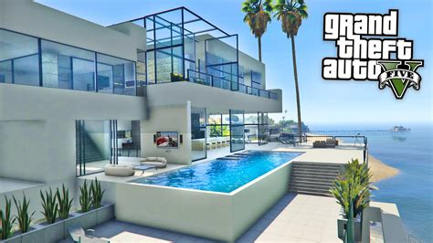 Modern Hous by Gta 5 Mods Billionaires Mansions Mod Tour Gta 5