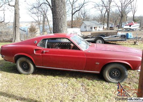 mustang fastback  project