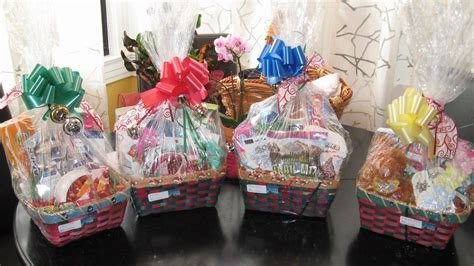 gift baskets toys and health items