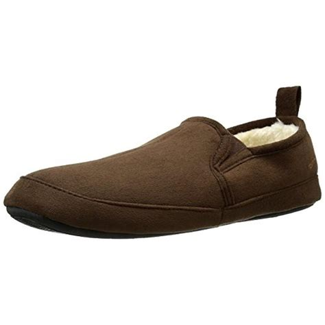 dockers mens slippers dockers 4349 mens faux suede slip on loafer slippers shoes