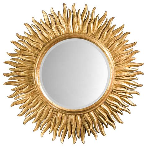 Uttermost Chandeliers Sunburst Mirror Traditional Wall Mirrors By Inviting