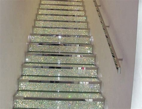cool design glitter glitter stairs home decor image