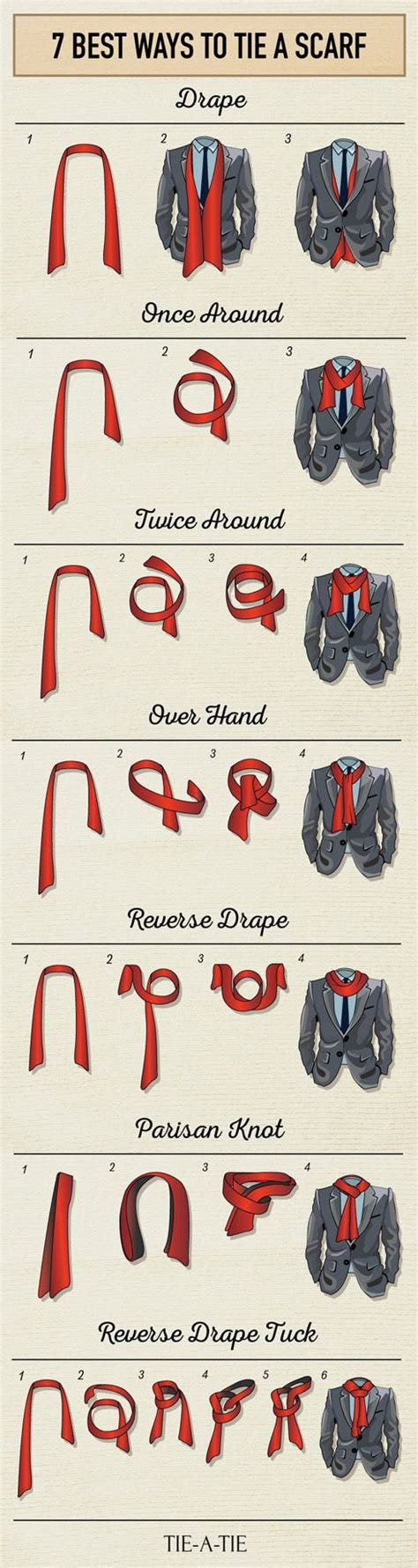 the best way to use a scarf to tie a short haircut with tapered back and sides for black women 7 best ways to tie a scarf for men drones wear a scarf