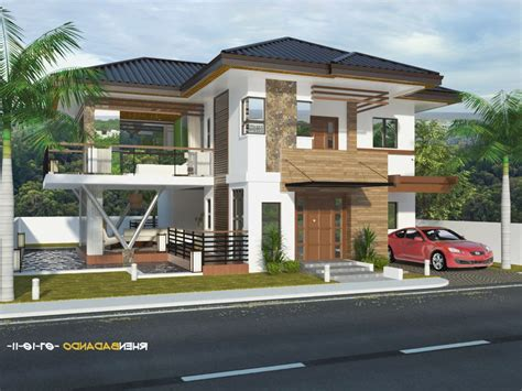 bungalow house design with terrace modern house styles philippines modern house