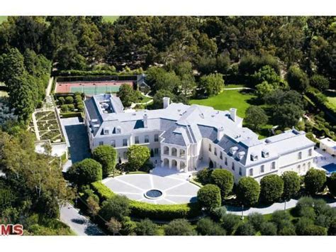 Barbra Streisand Basement by Owlwood Estate In Holmby Hills Calif On The Market For