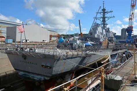 war eagle boats jackson ms mississippi shipyard to fix destroyer hit in june