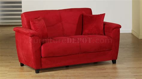 red reclining sofa microfiber red microfiber fabric living room storage sleeper sofa