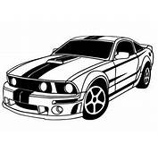 Muscle Car Clipart  Images Illustrations Photos