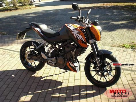 Ktm Duke 125 Features Ktm 125 Duke 2011 Specs And Photos
