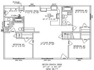One Story Ranch Style House Plans by One Story Ranch Style House Plan Needs About 500 Sq Ft