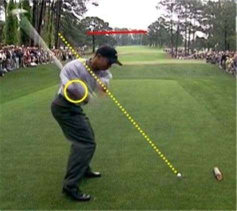 golf swing under plane why tiger s swing is worse now
