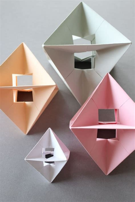 Origami Spinners - diy modular design spinner modular design origami and