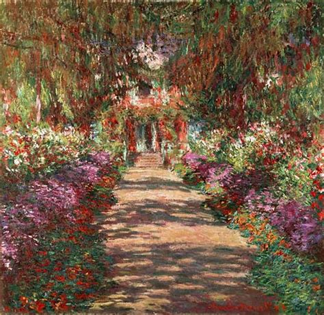 claude monet k 252 nstler gem 228 lde kunstdruck weg in monets