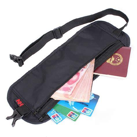 ultra money ultra thin waist bag travel packs pockets personal