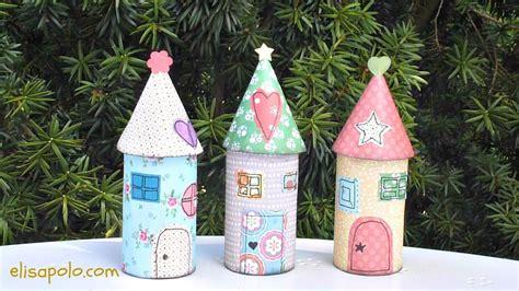 How To Make Paper Fairies - diy la casita de los duendes paper house