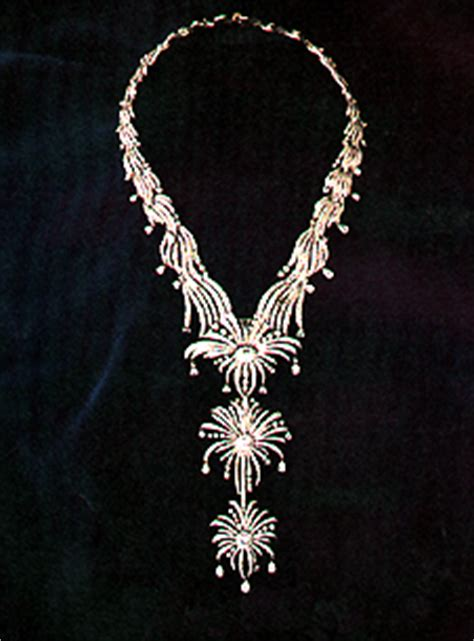 Kalung Hanging Big Diamonds Necklace kalung ferrebeekeeper