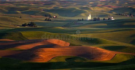 crop insurance important for ag industry washington ag on farms palouse washington stock photo image 57925145