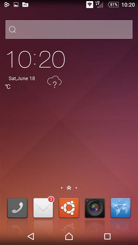 ubuntu on android ubuntu skinpack for android released skinpack customize your digital world