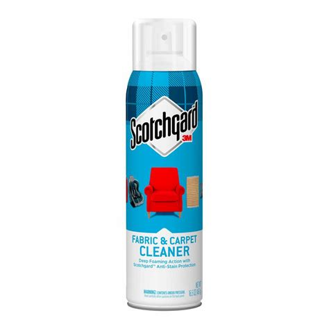 upholstery cleaner rental lowes scotchgard 16 5 oz fabric and carpet cleaner 4107 16