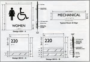 Ada Interior Signage Requirements Pin Ada Restroom Requirements By Ariel On Pinterest