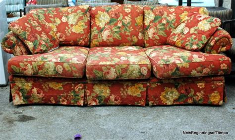 floral sofa couch couch floral print sofa