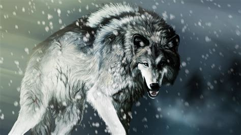 black and white anime wolves 3 background wallpaper angry wolf desktop background hd 3840x2160 deskbg com