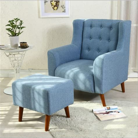 brand new single seater sofa fabric high back arm chair