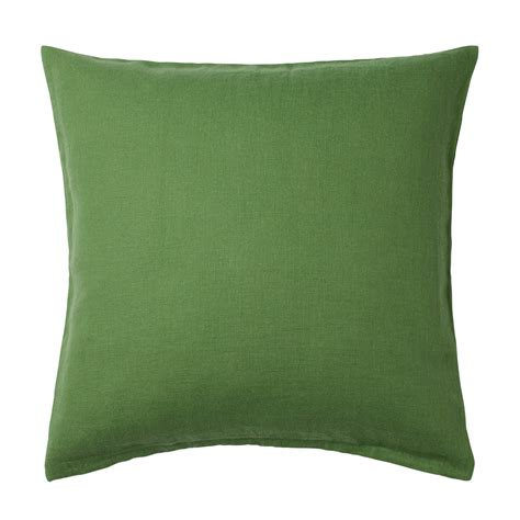 cusion covers vigdis cushion cover green 50x50 cm ikea