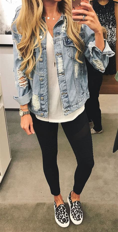 Summer To Fall Coats I Its Just With Me best 25 denim jacket black ideas on