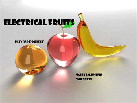 fruit electricity electrical fruit
