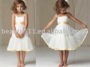 Lovely cute flower girl dress euah0499 view tea length prom gown