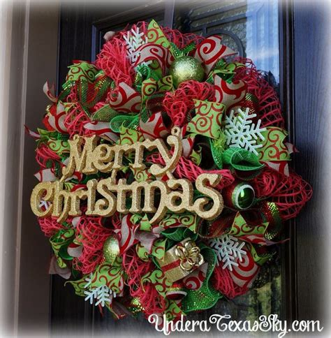 27 best wreaths images on deco mesh wreaths midland and