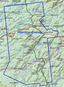hamilton county totally within the adirondack park