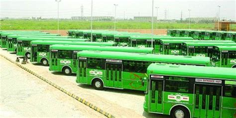 by way of the green line bus youtube pm inaugurates green line bus service in karachi tele