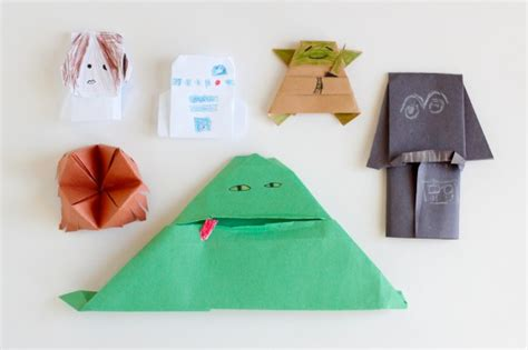 Origami Puppets - easy origami wars book covers
