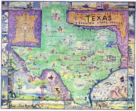 map of texas state parks tpwd a new deal for texas parks html exhibit chapter 3