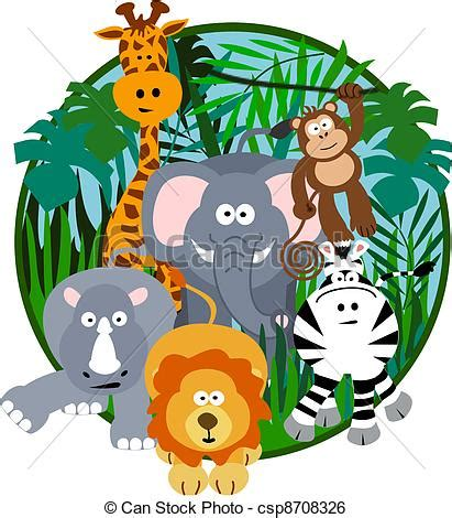 safari clipart safari animals clipart 16