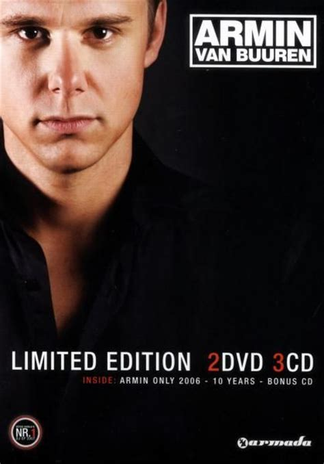 Armin Buuren Limited armin buuren limited edition box 2 dvd 3 cd
