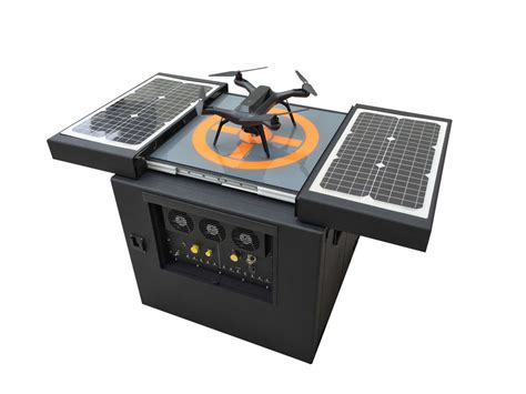 drone dynamics h3 dynamics introduces the quot dronebox quot solar powered drone
