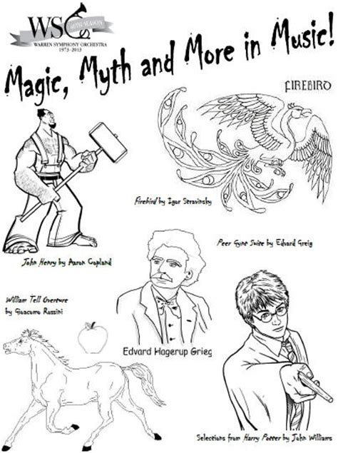 free coloring pages of of the orchestra