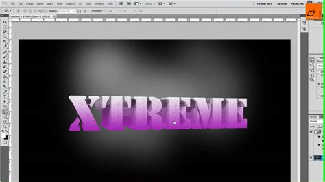 tutorial photoshop cs5 3d animation tutorial photoshop crear letras 3d con photoshop cs5