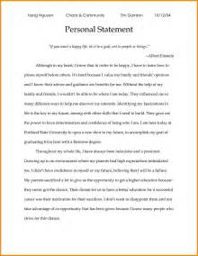 Personal Statement Scholarship Essay Exles by 9 Personal Statement Exles For Scholarship Statement 2017