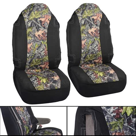 camouflage seat covers for trucks camo seat covers high back integrated seatbelt for