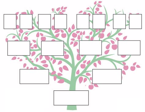 printable family tree images printable family tree download free printable graphics