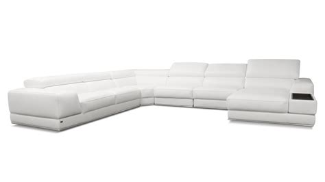 wynn sectional and ottoman wynn leather sectional sofa with adjustable headrests
