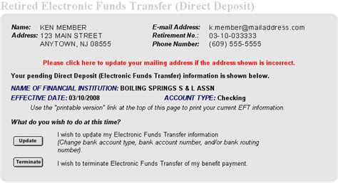 How To Get A Bank Letter For Direct Deposit Division Of Pensions And Benefits