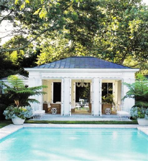 backyard pool houses the enchanted home