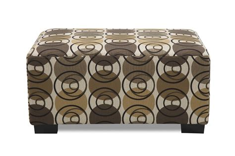 pattern ottoman adorned in a adorned in a multi circular pattern ottoman