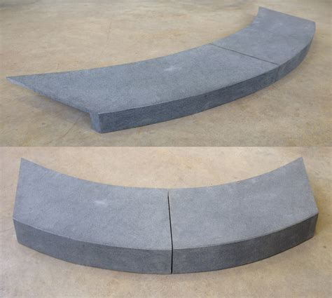 Patio Pavers Curved Edge Bluestone Curved Swimming Pool Coping Rebated Drop