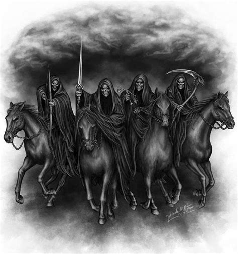 four horsemen of the apocalypse tattoo 25 best the four horsemen ideas on
